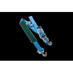 Sistema de Amarre con Carraca Porta Coches con Protección · 2,5mt 5ton · K-3301-16-OL