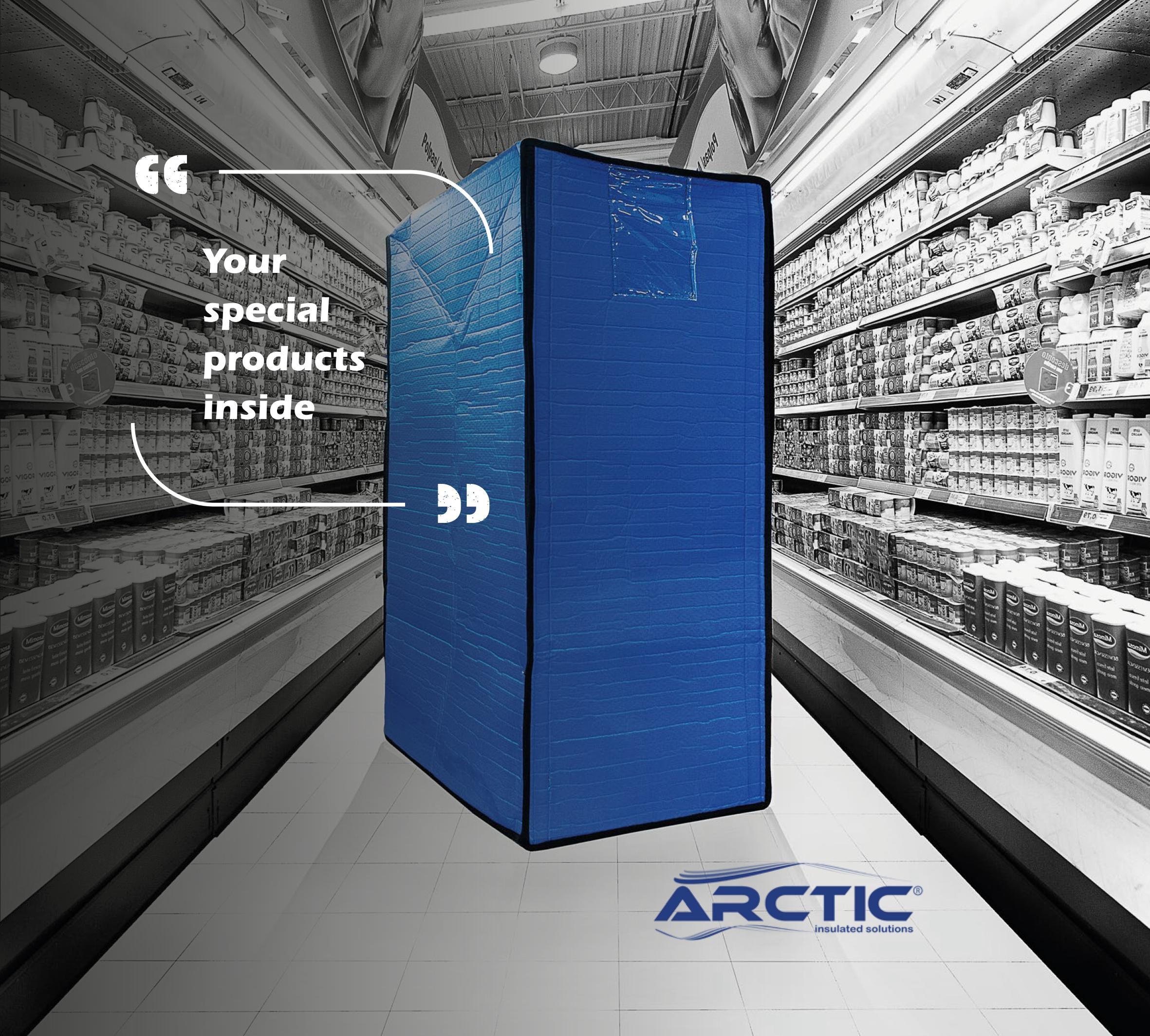 ARCTIC Soluções isotérmicas, coberturas